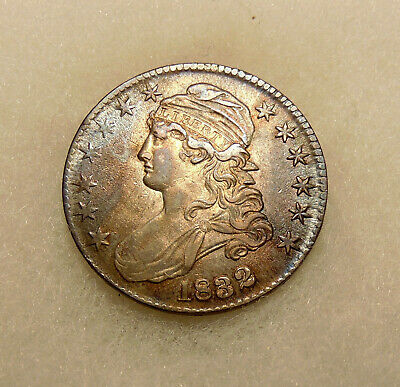 1832 Capped Bust Half Dollar - Overton 115 - Pretty AU Coin - FREE SHIPPING