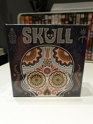 Skull Card Game - One of the finest Bluffing Games for 3 to 6 players - New