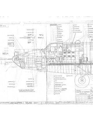 Avro Shackleton MR2 drawings on CD