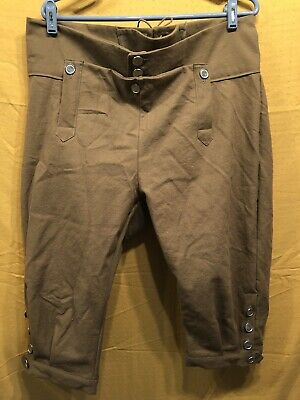 Knee Breeches, Size 42 Light Brown - Rendezvous, Mountain Man, Colonial, Pirate