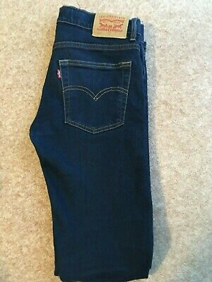 LEVIS 510 SKINNY FIT BOYS YOUTHS JEANS AGE 14 - 16 YEARS cp mastrum armani kenzo