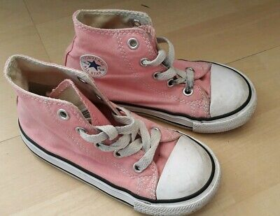 girls pink converse size 8 infant