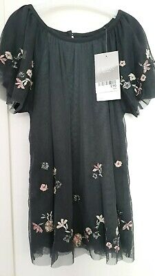girls party top tunic NEXT embellished BNWT 4years, very pretty party outfit