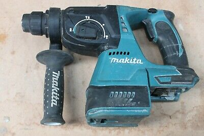 Makita DHR242 18v SDS Drill - Spares or Repairs   FREE POSTAGE