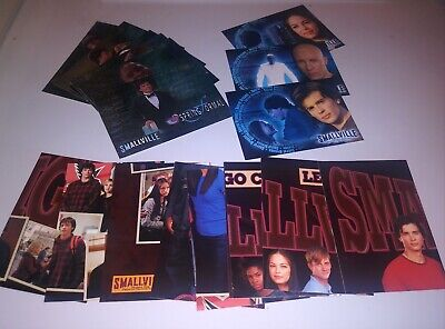 SMALLVILLE Season One Three Complete Chase Insert Trading Card Set Tom Welling