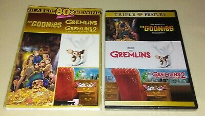 Goonies / Gremlins / Gremlins 2: The New Batch [New DVD] Boxed Set w/slipcover