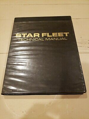 1st-edition-Star-Fleet-Technical-Manual-Star-Trek-1975 Incredible Detail