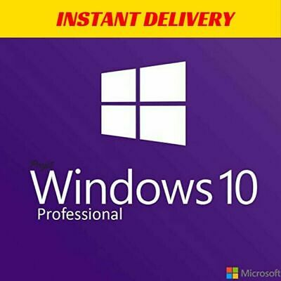 Instant Windows 10 Professional Pro 32|64 Bit Genuine Activation Key Licence