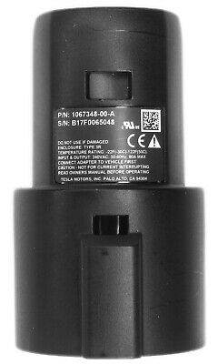 Tesla 1067348-00-A SAE J1772 Charging Adapter for Model 3, X, S Original Charger