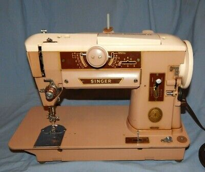 Singer Sewing Machine Model 401A Serviced Amazing Condition & QUALITY