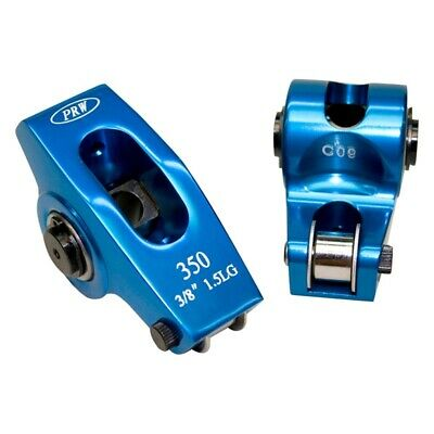 PRW PLATINUM SERIES POLISHED STAINLESS ROLLER ROCKERS SBC 1.6 X 3//8