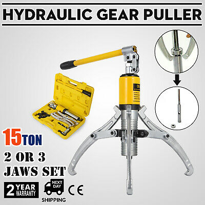 15T Hydraulic Bearing Gear Puller Wheel 15Ton 2 or 3 Jaws 300mm Max Spread