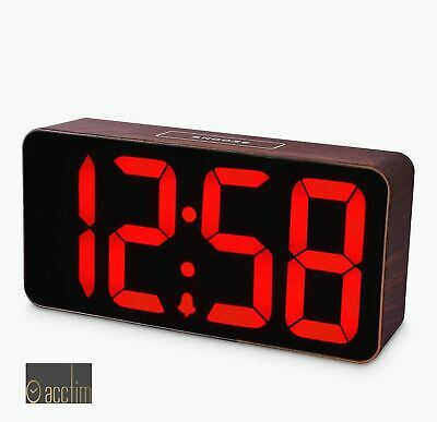 ACCTIM Argo Smart Connector USB Alarm Clock   Cable Included   Two Ports