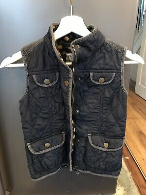 Next Girls Blue Gilet/Bodywarmer Age 7