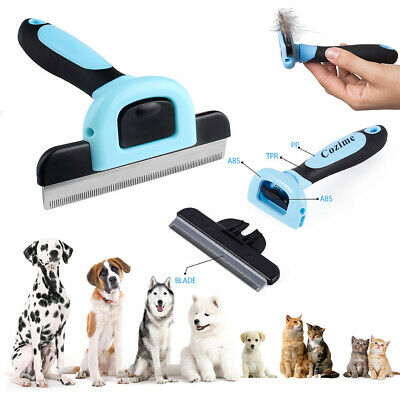Dog Brush for Shedding-Best Cat Grooming Comb Tools Hair Pet Trimmer Clipper WF