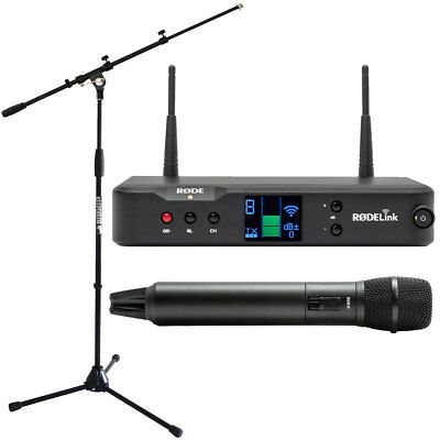 Rode Rodelink Performer Kit Funk-Mikrofon System+Microphone Stand with Boom