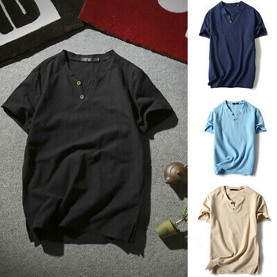 AM/_ Summer Men Casual Camouflage O-Neck Short Sleeve Basic Tee Top T-shirt Lot S
