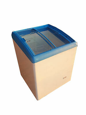 AHT Commercial Display Chest Freezer/Compact Sliding Glass Lid Ice Cream Freezer