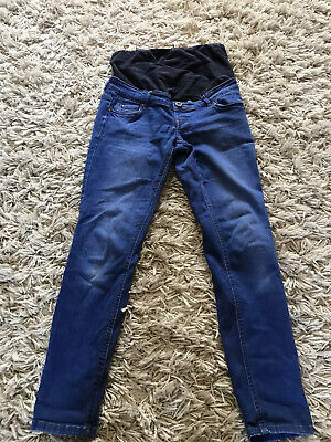 New Look Over The Bump Maternity Jeggings/jeans Size 10
