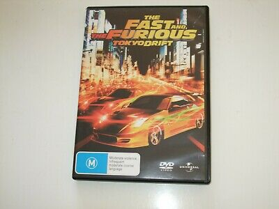 The Fast And The Furious: Tokyo Drift - DVD *Free Postage*