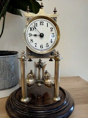 German 400 day anniversary clock. Possibly a Becker or JUF.