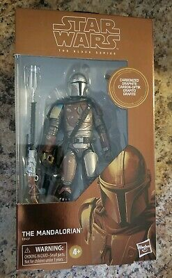 Star Wars The Black Series Mandalorian Carbonized Target Exclusive New
