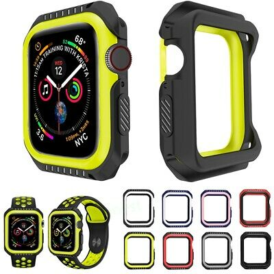 Protective Case Accessories Cover Bumper For Apple Watch iWatch Series 4 40/44mm
