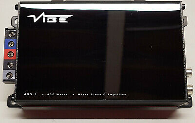 VIBE POWERBOX400.1M-V7 400 Watt RMS MICRO AMPLIFIER USED IN GOOD WORKING ORDER