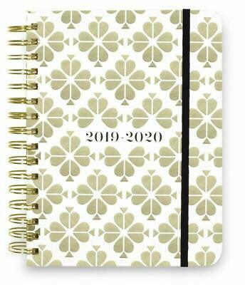 Kate Spade New York 17 Month Large Hardcover 2019-2020 Daily Planner, Weekly And