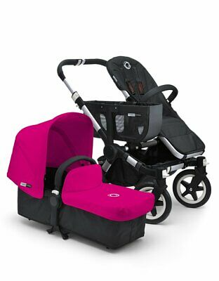 Bugaboo Donkey Tailored Fabric Set Hot Pink (discontinued)
