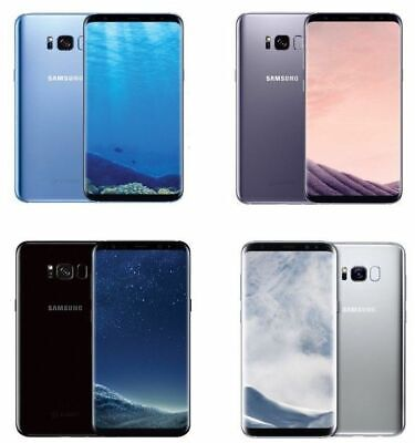 Samsung Galaxy S8+ Plus G955U Factory Unlocked Verizon AT&T T-Mobile Black, Gray