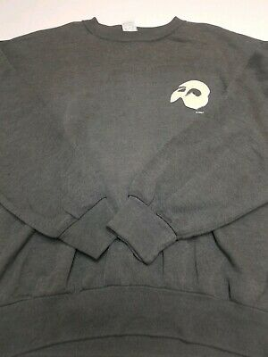 VTG 80s 90s Phantom Of The Opera Crewneck Sweatshirt Mens XL Double Sided