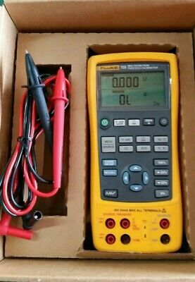 Fluke 725 MultiFunction Process Calibrator with Leads Excellent!!