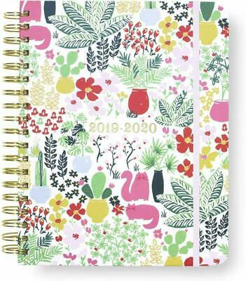 Kate Spade New York 17 Month Mega Hardcover 2019-2020 Daily Planner, Weekly And