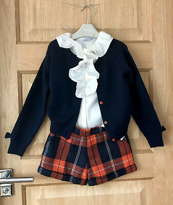 TUTTO PICCOLO Spanish DESIGNER OUTFIT *4-5y GIRLS Stunning OUTFIT AGE 4-5 YEARS