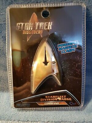 Star Trek Discovery QMx Magnetic Insignia Starfleet Sciences Division Badge ,NEW