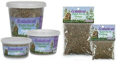 Premium Catnip Sprinkle on Toy or Surfaces Resealable For Freshness Choose Size