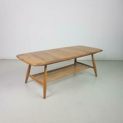 ERCOL COFFEE OCCASIONAL TABLE VINTAGE MIDCENTURY 60s #2849