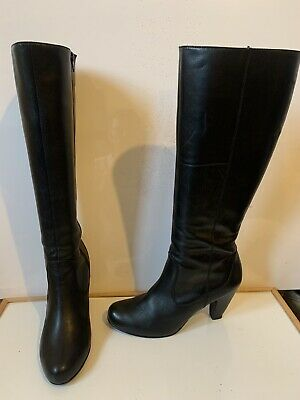 Marks and Spencer Comfy Leather Knee Boots Size UK 7.5 EU 41