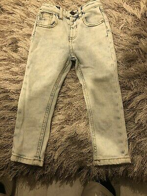 Mini Boys River Island Bleached Skinny Jeans Age 2-3 Years