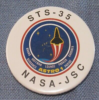 space shuttle STS-26 return to flight vintage NASA pin pinback button badge