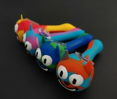 """4.5"""" SILICONE TOBACCO Cat Smoking Hand Pipe US-Buy 3 get 1 free!"""