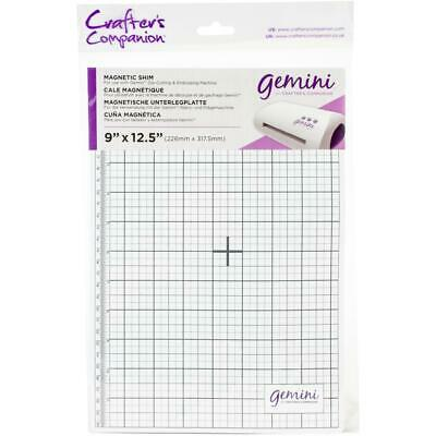 """Crafter's Companion Gemini Magnetic Shim 9"""" x 12.5"""" (226mm x 317.5mm)"""