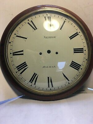 Excellent Mahogony  Dial Clock Case, Convex Dial, Bezel & Glass