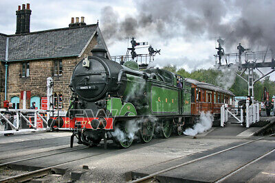 GNR Great Northern 1744 Grosmont North Yorkshire Moors Railway Photograph 6x4