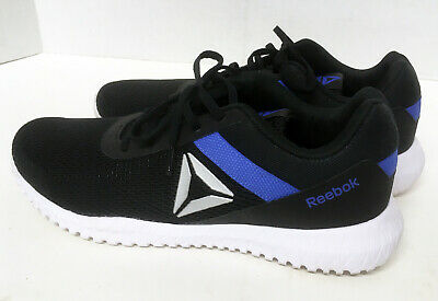 Reebok Flexagon Energy Shoes Black Cobalt White Silver DV6915 (US Mens 13)