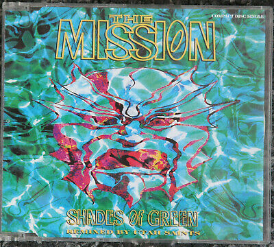 THE MISSION - SHADES OF GREEN cd single
