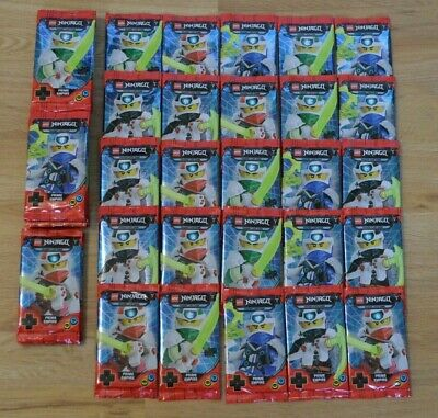 20 BOOSTER LEGO ® Ninjago ™ serie 5 Trading Card Game 100 CARDS