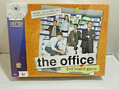 The Office Dvd Board Game - Brand New - Sealed