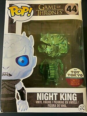 Night King Funko Pop! Game of Thrones Emerald Chrome Custom Painted